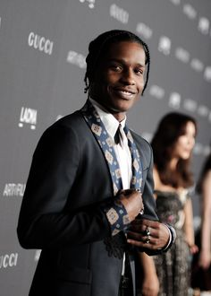 A$AP Rocky attends the 2016 LACMA Art + Film Gala honoring Robert Irwin and Kathryn Bigelow presented by Gucci at LACMA on October 29, 2016 in Los Angeles, California.