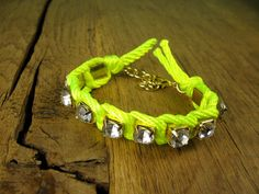 neon bracelet!