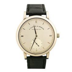 """Lange & Söhne """"Grosse Saxonia Automatik"""" My birthday is March thank you very much! Jewelry Box, Jewelery, Jewelry Accessories, Fashion Accessories, Vintage Handbags, Watches For Men, Wrist Watches, Personal Style, Bling"""