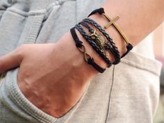 Men's Braided Bracelets DIY .