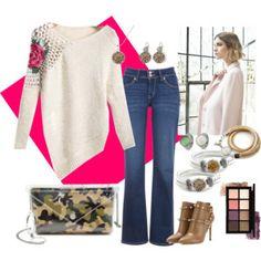 Casualchic... #camouflage #bag #clutch #jewelry #amber #flowers #camel #shopping #polyvore #shoponline www.bi-bag.it