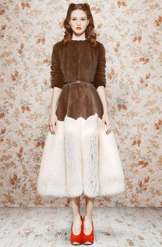 Ulyana Sergeenko Fall/Winter 2011