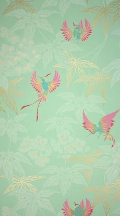 Grove Garden Wallpaper Grove Garden Wallpaper An Exotically Coloured Hummingbird Darting Between Foliage Named After The Tropical Bird Garden Outside Kells In County Meath Osborne Grove Garden Wallpaper Osborne And Little Wallpaper, Of Wallpaper, Designer Wallpaper, Chinoiserie Wallpaper, Bathroom Wallpaper, Antique Wallpaper, Amazing Wallpaper, Wallpaper Patterns, Custom Wallpaper