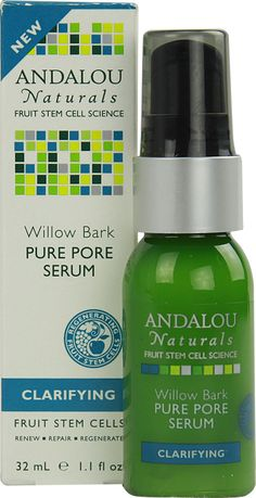 Andalou Naturals Clarifying Willow Bark Pure Pore Serum