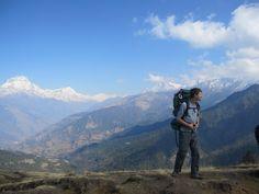 Trekking around the Annapurna Circuit with the CNSP students. (Ashley Kim '12)