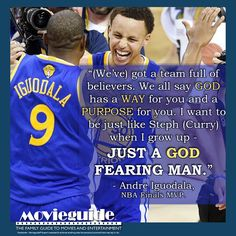 GREAT quote from NBA Champion and Finals MVP, Andre Iguodala! #NBAFinals #Warriors #AndreIguodala #StephenCurry