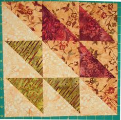 Quilting 101: How to Make Half-Square Triangle Units for Quilts: Learn to Make Quick Pieced Half Square Triangles