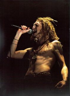 Layne Staley of Alice in Chains - regardless of how domesticated I pretend to be, I'll always be a sucker for a grungy man.