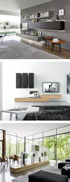 HÄNGEELEMENT In Braun | Wohnwände | Pinterest | Modern Tv Units, Tv Walls  And Tv Units