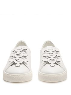 Click here to buy Anya Hindmarch Apex low-top leather trainers at MATCHESFASHION.COM