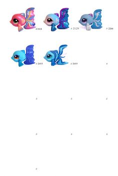 Nicole`s LPS blog - Littlest Pet Shop: Pets: Fish