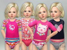 Toddler Set GP03 by lillka at TSR • Sims 4 Updates