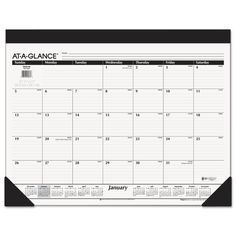Quality headband and backer make this product refillable. One month per page with ruled blocks and lined notes space. Full-year calendar reference. Printed on high-quality, recycled paper containing p