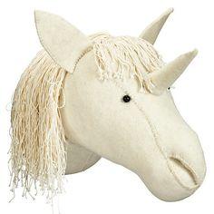 Felt Unicorn Head