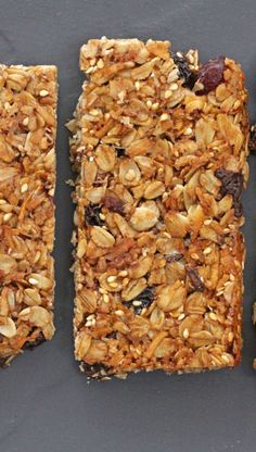 These grown-up granola bars are the perfect homemade ones for those of us who need granola bars but think we& too grown-up for the kid versions. Fruit Recipes For Kids, Healthy Fruit Desserts, Fruit Snacks, Snack Recipes, Recipes With Dried Fruit And Nuts, Fruit Ideas, Fruit Party, Kid Snacks, Bar Recipes