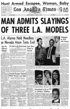 This Day in History:  Sep 18, 1959: A serial killer is executed dingeengoete.blogspot.com http://latimesblogs.latimes.com/thedailymirror/files/1958_1031_cover.jpg