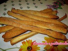 Cucinando e Pasticciando: Grissini al formaggio