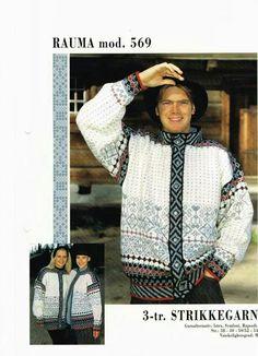 Rauma 569 Knitting Projects, Knitting Patterns, Norwegian Knitting, Pattern Books, Knit Crochet, Nostalgia, Trending Outfits, Norway, Madness