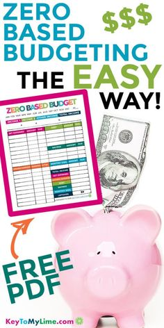 Learn how to budget easily with the zero based budgeting system. Save more and pay off debt faster using the free printable by assigning ever dollar a home. Saving Money Quotes, Money Saving Challenge, Money Saving Tips, Money Tips, Dave Ramsey, Budgeting Finances, Budgeting System, Budgeting Tips, Cash Envelope System