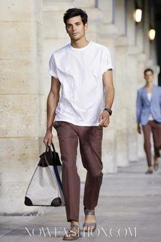 Hermes Menswear Spring Summer 2014 Paris - NOWFASHION