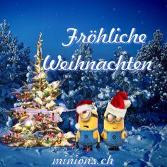 Merry Christmas - Fröhliche Weihnachten | minions.ch