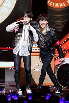 Jinwoo and seungyoon