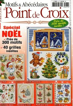 Noel cross stitch (lots of cool designs) Cross Stitch Letters, Cross Stitch Tree, Cross Stitch Books, Cross Stitch Bookmarks, Cross Stitch Needles, Cross Stitch Cards, Beaded Cross Stitch, Cross Stitching, Cross Stitch Embroidery