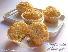 I muffin salati al formaggio