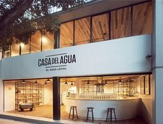Casa del Agua by Héctor Esrawe and Ignacio Cadena (THiNC) in Mexico via www.mr-cup.com