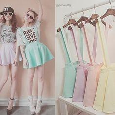 Pastel fashion ♥