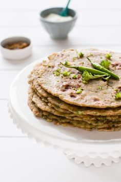 Broccoli + Potato #Paratha