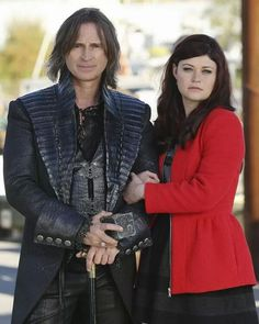Once Upon a Time-Belle, Rumplestilskin, Rumbelle