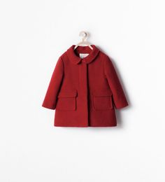 Discover the new ZARA collection online. Baby Outfits, Kids Outfits, Ropa American Girl, Pull Bebe, Kids Clothes Sale, Kids Clothing Brands, Baby Coat, Kids Coats, Baby Sweaters