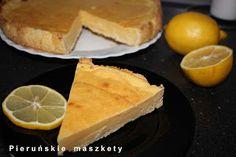 Pieruńskie maszkety - blog kulinarny: Cytrynowe ciasto z kaszą manną - wygląda jak serni...