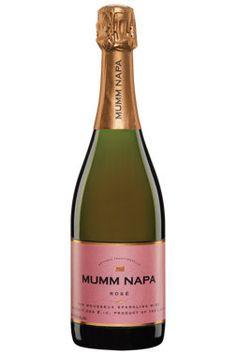 Célébrez en bonne compagnie avec le Mumm Napa, vin mousseux rosé. Napa Valley, Whisky, Champagne, Wine And Spirits, Obstacles, Bubbles, Bottle, Rose, Nature