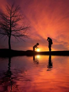 Silhouette Photography, Image Photography, Life Photography, Mothers Love, Life Is Beautiful, Sunrise, Father, Journey, Peace
