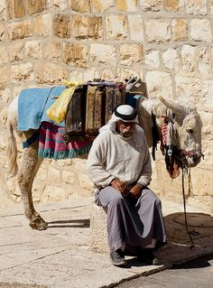 Two old friends. Israel