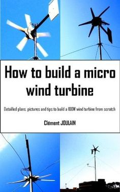 A micro wind turbine is any kind of small wind turbine. Many of them are transportable and can be used to charge batteries on the move in your car, Recreational vehicle or while camping out. Renewable Energy, Solar Energy, Solar Power Facts, Alternative Energie, Wind Power Generator, Energy Projects, Do It Yourself Home, Just In Case, Caravan