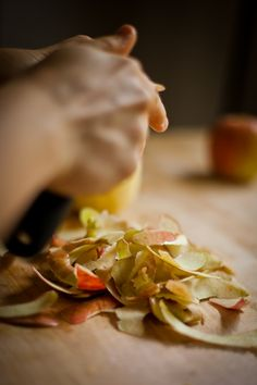 Melasse Apple Spice-Kuchen