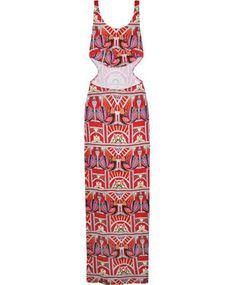 Ananda Cutout Maxi Dress #marahoffman