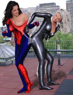 Black_Cat Marvel Spider-Girl Spider-Man chillyplasma fakes