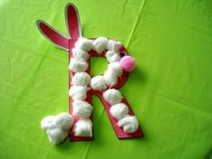 R is for rabbit craft by edna