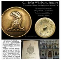 Mr C. J. Sofer- Whitburn - FROM OFFICE BOY TO MILLIONAIRE - Thanks to Livery Buttons and Badges on FACEBOOK. #buttonlovers