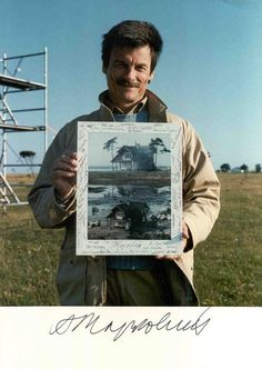 """""""Relating a person to the whole world: that is the meaning of cinema."""" - Andrei Tarkovsky (April 1932 - December See his 10 favorite films and explore his career. Film Movie, Movies, Portraits, Film School, Great Films, Film Director, Filmmaking, Famous People, Spirituality"""