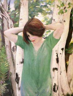 White Birch, Marie Haughton Spaeth