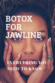 Botox for jawline can slim down and contour your face. Learn how Botox is used to slim the jawline, the cost, side effects, before and after, and more! Cheek Fillers, Dermal Fillers, Botox Cost, Botox Face, Botox Before And After, Jaw Clenching, Anti Aging Treatments, Cosmetic Treatments