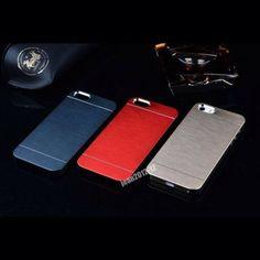 Il Vero Cover Brosh Alluminio Lussuoso Per Iphone 5/5S Case Custodia Per iphone5