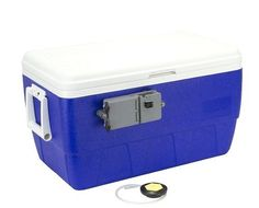 Aerator Kit Ice Chest Aqua-Life Cooler Modification Bait Fresh Saltwater Fishing #Frabill