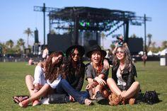 With the Band: Coachella 2015 Street Style  - HarpersBAZAAR.com