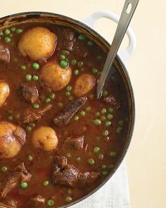 Irish Beef and Stout Stew - a one pot meal from Martha Stewart, this sounds so good, simmer on the stove for a few hours over the weekend - and it is supposed to freeze well. A Must Try for me :)